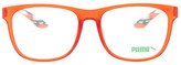 Puma Women&s Square Plastic Frame Optical Glasses