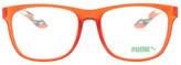 Puma Women's Square Plastic Frame Optical Glasses
