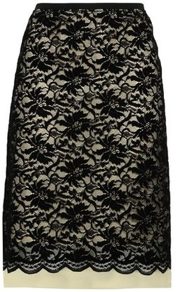 Marc Jacobs Lace And Organza Skirt
