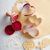 Williams-Sonoma Williams Sonoma Valentine's Day Cookie Cutter Set on Ring