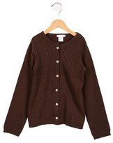 Jacadi Girls' Long Sleeve Cardigan