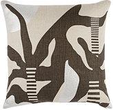 Kelly Behun Studio Abstract-Pattern Linen Pillow
