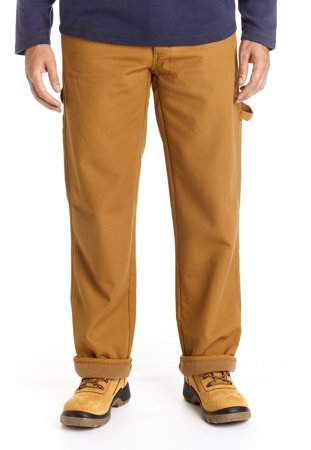 9eb56547d Mens Fleece Lined Pants - ShopStyle