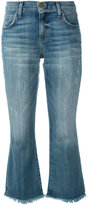 Current/Elliott cropped Flip Flop jeans