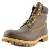 Timberland Af Annvrsry Men Round Toe Leather Brown Hiking Boot.