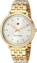 Tommy Hilfiger Women's 'SPORT' Quartz and Stainless-Steel Casual Watch, Color:-Toned (Model: 1781761)