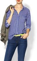 Splendid Gingham Pocket Tunic