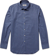 Canali - Slim-fit Buffalo Checked Cotton-flannel Shirt