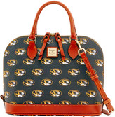 Dooney & Bourke NCAA Missouri Zip Zip Satchel