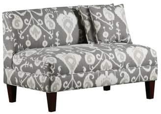 Three Posts Fleeton Loveseat Upholstery Color: Java Pewter