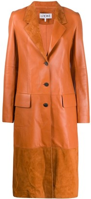 Loewe Single Breasted Trench Coat