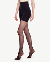 Ann Taylor Sheer High Waist Control Top Tights