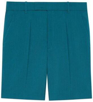 Gucci Mohair wool shorts