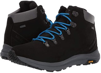Merrell Ontario Mid Waterproof (Black) Men's Shoes