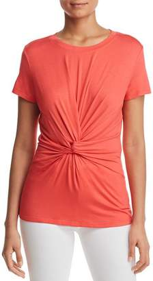 Kenneth Cole Knot-Front Top