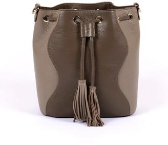 Hiva Atelier Rivus Leather Bag - Mink & Sand