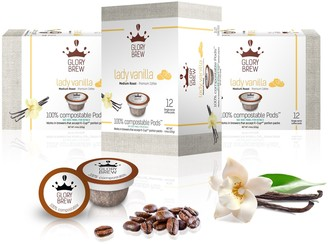 Glorybrew Lady Vanilla 60-Count Compostable Coffee Pods