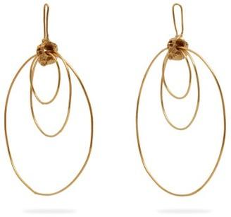 Orit Elhanati - Alice Gold-plated Hoop-drop Earrings - Gold