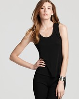 Eileen Fisher Sleeveless Silk Jersey Tank
