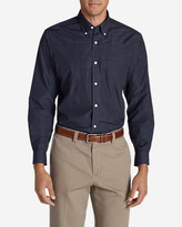 Eddie Bauer Men's Wrinkle-Free Long-Sleeve Sport Shirt