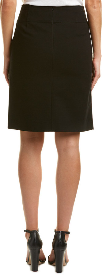 Thumbnail for your product : Karen Millen Tailored Faux Wrap Skirt