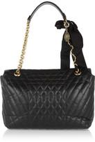 Lanvin The Happy large quilted-leather shoulder bag