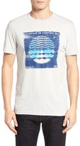 RVCA Men's Radio Waves Graphic T-Shirt