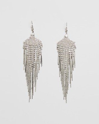 8 Other Reasons Feathered Gem Earrings