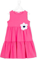 Il Gufo floral dress - kids - Cotton/Spandex/Elastane - 2 yrs