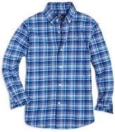 Vineyard Vines Boys' Star Island Plaid Flannel Shirt - Sizes S-XL