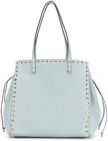 Valentino studded shoulder bag - women - Calf Leather/Brass - One Size