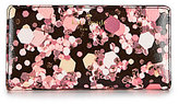 Kate Spade Grant Lane Collection Stacy Glitter-Print Continental Wallet