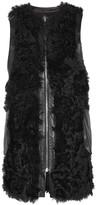 Sonia Rykiel Reversible shearling vest