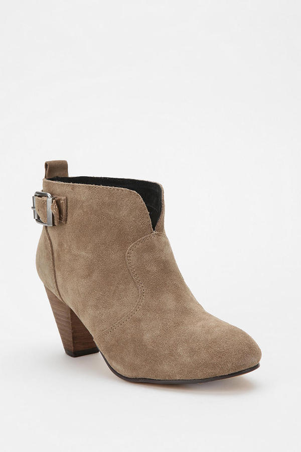 Urban Outfitters Ecote Suede Ankle Bootie