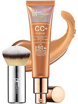 It Cosmetics CC Cream Physical SPF 50 Bronzer with Luxe Buki Brush