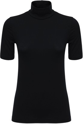 Wolford Sustainable Aurora Fitted Modal T-Shirt