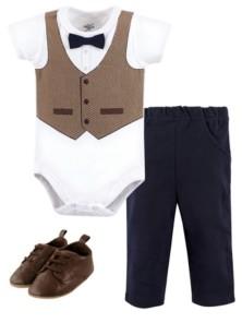 Little Treasure Bodysuit, Pant and Shoe Set