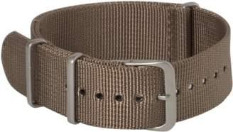 Hadley Roma Hadley-Roma MS4210RAB200 20mm Nylon Beige Watch Strap
