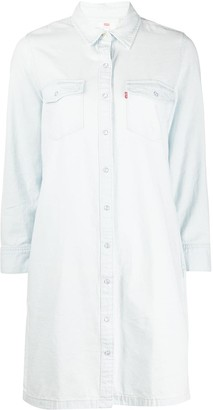 Levi's Straight Fit Shirt Dress
