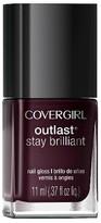 Cover Girl .37floz Stay Brillant Nail Color 195 Nemesis