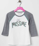Miss Me Girls Raglan Sleeve Top