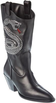 Giuseppe Zanotti Leather Boot