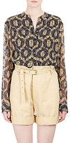 Isabel Marant Women's Ikat-Print Tao Blouse-YELLOW