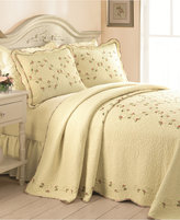 Peking Rose Garden Twin Bedspread