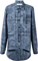 Off-White plaid shirt - men - Linen/Flax - S