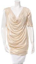 Ports 1961 Metallic Cowl Neck Tunic