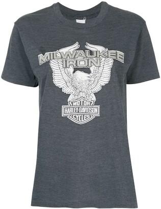Fake Alpha Vintage logo print T-shirt