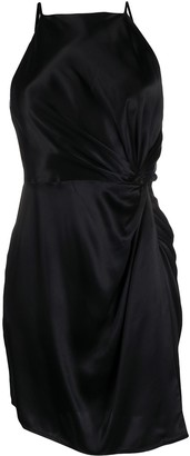Alexander Wang Silk Apron Dress