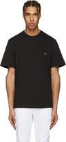 MSGM Black Dice Patch T-shirt