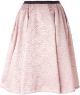 Antonio Marras flared brocade skirt